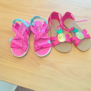 Carter S Shoes Toddler Boys Sandals Never Worn Poshmark